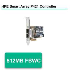 HP Smart Array P421/512MB FBWC 6Gb 2-ports Ext SAS Controller
